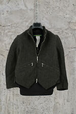 NEW PAUL HARNDEN SHOEMAKERS WOMEN'S WOOL LINEN GREEN CORD JERKIN JACKET XS,M