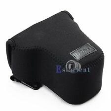 4 Color Camera Protector Case Bag Cover For Canon EOS M M2 EF-M 18-55mm Lens【US】