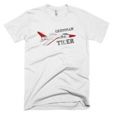 Grumman F11F-1F Super Tiger Fighter Jet Custom Airplane T-shirt -Personalized w/