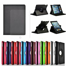 For iPad 2 3 4/Air 2/mini 360 Rotating Flip Leather Case Smart Stand Back Cover