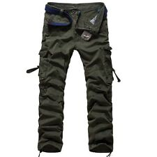 Mens Casual Military Army Cool Cargo Camo Combat Work Pants Trousers Hot