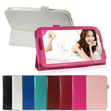 "Folio Folding PU Leather Case Cover Stand for Samsung Galaxy Tab3 7"" P3200 P3210"