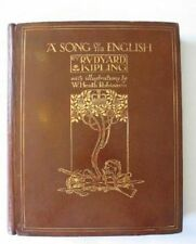 A SONG OF THE ENGLISH - Kipling, Rudyard. Illus. by Robinson, W. Heath
