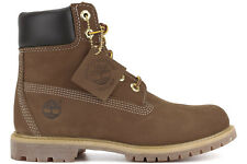 NEW Timberland 6-Inch Premium 10360 Women's Rust Nubuck Waterproof Leather Boots