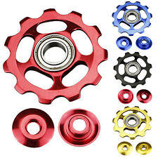 11Tooth MTB Ceramic Bearings Jockey Wheel Pulley Road Bicycle Bike Derailleur A