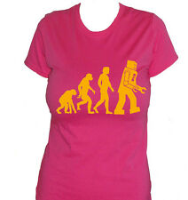 fm10 women's t-shirt EVOLUTION ROBOT Big Bang Theory Sheldon CINEMA&TV