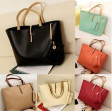 New Women PU Leather Tote Shoulder Hobo Handbags Satchel Messenger Purse lot DE