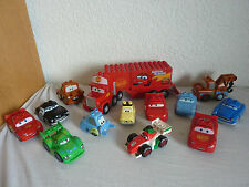LEGO Duplo Cars Cars - Mack, Sheriff, Mc Queen, Sally, Guido etc. selection of