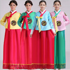 New Cute Luxury Korean Traditional Clothes Dress HANBOK WOMAN with silver hanbok