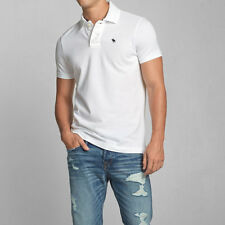 NWT ABERCROMBIE & FITCH MENS MUSCLE FIT ICON POLO SHIRTS SZ S / XL
