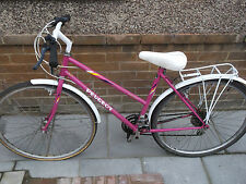 Peugeot Ladies Road bike with carrier 20
