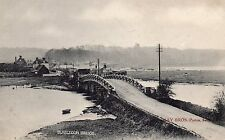 OLD MAY BROS POSTCARD CIRCA 1900's - BURSLEDON BRIDGE RIVER HAMBLE - SOUTHAMPTON