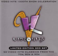 VIDEO HITS - 50 HITS FROM THE 70s,80s & 90s / VARIOUS ARTISTS - 3 CD SET - new