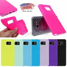 TPU Silicone Gel Rubber Case Cover Shockproof Skin New for Samsung Galaxy Note 5