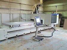 Morbidelli Author CNC Router + Extraction Nov 2014. 12 x 5  Matrix bed £51k +Vat