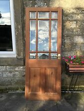 Solid Oak Glazed Internal Door