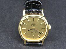OMEGA DE VILLE 625 17JEWELS GOLD PLATED SWISS MADE MANUAL WINDING LADIES WATCH