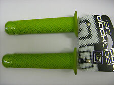 BLACK LABLEL Green Scooter BMX MTB Grips With Bar Ends