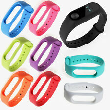 Replacement Silicone Wrist Strap Watch Band Bracelet For Xiaomi Mi Band 2 #BK