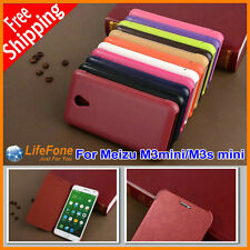 Luxury Book Style Holster PU Leather Case for Meizu M2 M3 s Mini Note flip cover