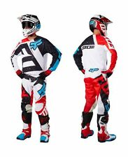 Mens Fox Racing 180 Nirv white Jersey and Pants Set Motocross 2017 apparel