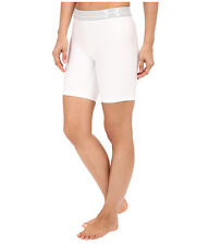 "UNDER ARMOUR WOMEN'S HEATGEAR COMPRESSION 7"" LONG SHORTS WHITE # 1270721-NWT"