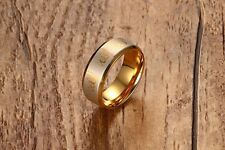 Muslim Allah Gold Plated Ring For Women mens