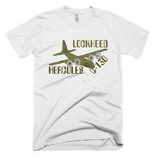 Lockheed USAF C-130E Hercules Airplane T-shirt- Personalized with N#