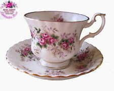 Royal Albert LAVENDER ROSE 2pc Set Cup & Saucer 1st Eng c1973