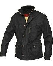 STS Ranchwear Smitty Western Ranch Jacket Wool Black Brown [Med Large  XL 2XL ]