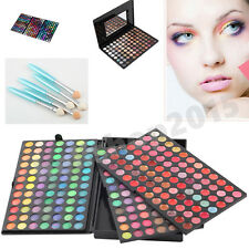 Pro more-Colorful Matte & Shimmer Eyeshadow Makeup Set Palette Cosmetic/brush DE