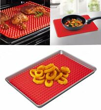 Hot Non Stick Fat Reducing Silicone Cooking Mat Oven Baking Tray Sheets Mat YH