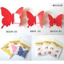 Sticker Art Design Decal Wall Stickers Room Decorations 3D Butterfly Home Decor