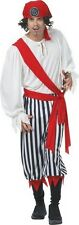 Pirate Man Costume Mens Black Pirate Costumes