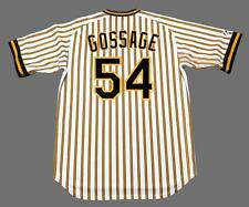 RICH GOSSAGE Pittsburgh Pirates 1977 Majestic Cooperstown Home Baseball Jersey