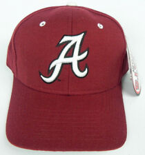 ALABAMA CRIMSON TIDE NCAA VINTAGE FITTED SIZED ZEPHYR DH CAP HAT NWT! ROLL TIDE