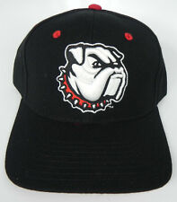 GEORGIA BULLDOGS BLACK X-LINE NCAA VINTAGE FITTED SIZED ZEPHYR DH CAP HAT NWT!