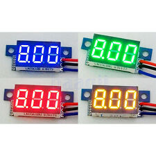 3 Digit 0-200V 0.36 three-wire Mini Voltage Test Panel Meter Different Choice MA