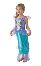 Disney Loveheart Ariel Princess Fancy Dress Costume Girls Blue Disney Costumes