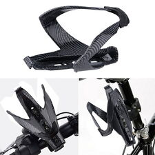 Cycling Bicycle Outdoor Carbon Fiber Water Bottle Drinks Holder Cage Rack New DP