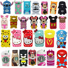 3D Cartoon Soft Back Skin Silicone Phone Case Cover For iPhone 5 5S 6 6S 7 Plus