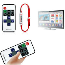 12V RF Wireless Remote Switch Controller Dimmer for Mini LED Strip Light NewS DP