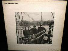 LP los MARY WILSON de noche tambien SPAIN 1989 mod POWER POP TROGGS KINKS VINYL