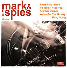"7"" EP MARK & the SPIES everything I need 45 SPANISH 2007 LTD VINYL"