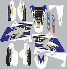 Yamaha YZ250f YZ450f 2003-2005 Graphics Decal fender shrouds sticker