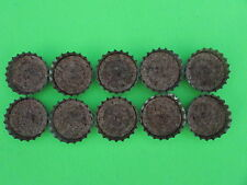 VINTAGE COCA-COLA BOTTLE CAPS CORK LINED LOT OF 10