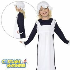 Victorian Poor Girl Costume- Child Girl Outfit Fancy Dress