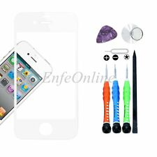 Outer Front Screen Glass Lens Replacement For Apple iPhone 4S Tools Kit White