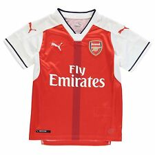 Puma Arsenal FC Home Jersey 2016 2017 Juniors Red/White Football Soccer Shirt