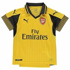 Puma Arsenal FC Away Jersey 2016 2017 Juniors Yellow Football Soccer Top Shirt